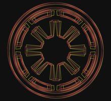 Galactic Republic Emblem (Acid Scheme) Kids Clothes