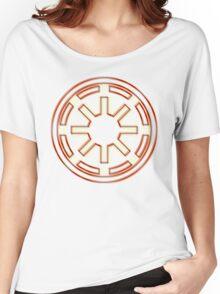 Galactic Republic Emblem (Acid Scheme) Women's Relaxed Fit T-Shirt
