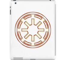 Galactic Republic Emblem (Acid Scheme) iPad Case/Skin