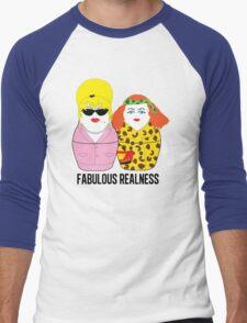 Fabulous Realness Men's Baseball ¾ T-Shirt