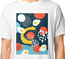 Clutch - vintage memphis style retro throwback 1980s 1980's 80s 80's design illustration pop art Classic T-Shirt