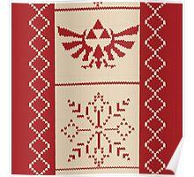 Nerdy Christmas Sweater: Zelda Poster