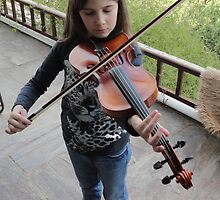 Violin (First Steps) by Minerva -Athina