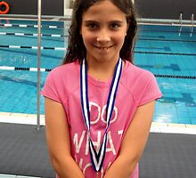 Freestyle Swimming Medal by Minerva -Athina
