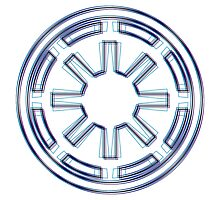 Galactic Republic Emblem (Alkali Scheme) by GekiDesign