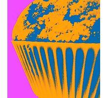 Blue Cake Photographic Print