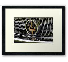 Maserati 2000 Gran Sport Spyder (1957) Framed Print