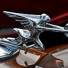 Packard Twin-Six Coupe Roadster hood ornament (1932) by Frits Klijn (klijnfoto.nl)