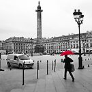 Paris: Red Rain by David Mapletoft