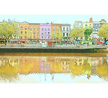 Colorful Dublin Photographic Print