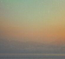 Sunset Fisherman by Jye Murray