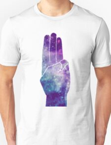The Hunger Games Sign Galaxy T-Shirt