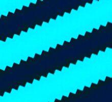 Adidas Blue/Light Blue Stripes Sticker