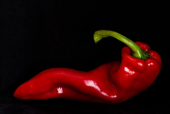 Red Pepper - 2 by Ellesscee