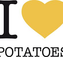 I ♥ POTATOES by eyesblau