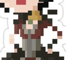Pixel Morrigan - Dragon Age Sticker