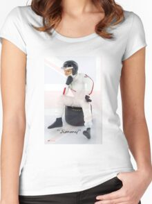 """""""Jimmy"""" Women's Fitted Scoop T-Shirt"""