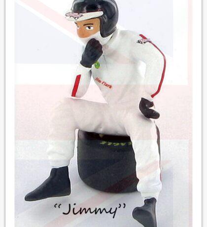 """Jimmy"" Sticker"