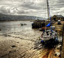 Barmouth Harbour, Wales UK by Simon Duckworth