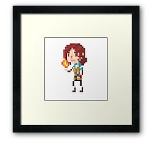 Pixel Triss - Witcher 3 Framed Print