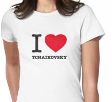 I ♥ TCHAIKOVSKY Womens Fitted T-Shirt