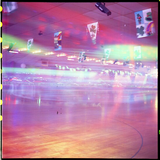 Skating Rink Light Play by Photonmixer
