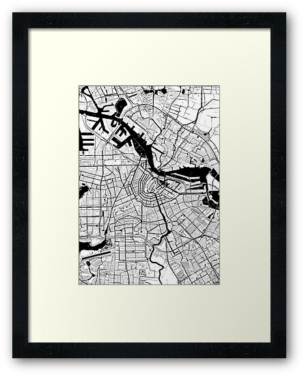 Amsterdam Toner Poster by Traut1