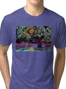 Go North Young Moon Tri-blend T-Shirt