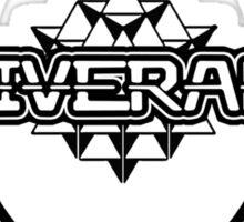 Deliverance 2012 11 dark merkaba - thedeliveranch.net Sticker
