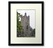 Exeter Cathedral, Exeter, Devon. Framed Print