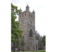 Exeter Cathedral, Exeter, Devon. Photographic Print