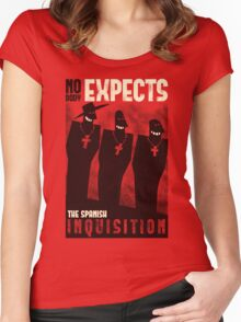 Nobody expects them! Women's Fitted Scoop T-Shirt