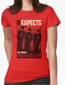 Nobody expects them! Womens Fitted T-Shirt