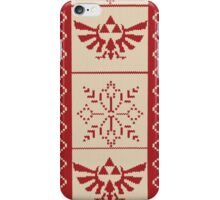 Nerdy Christmas Sweater: Zelda iPhone Case/Skin