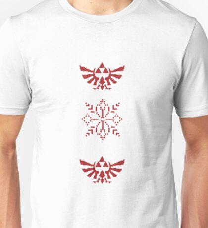 Nerdy Christmas Sweater: Zelda Unisex T-Shirt