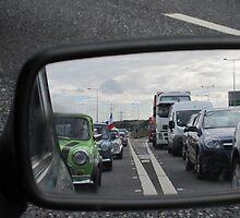 Most interesting traffic jam by Barnaby Craft