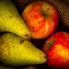 Apples and Pears by Ellesscee