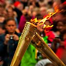 The Olympic torch exchange by Inmemoryphoto