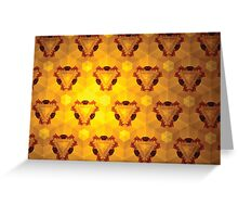 Prismatic Texture 47 Greeting Card