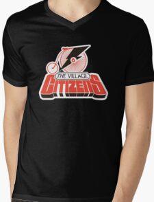Number Six Mens V-Neck T-Shirt