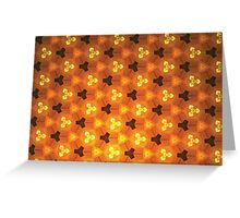 Prismatic Texture 49 Greeting Card