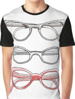 Cat eye glasses Graphic T-Shirt