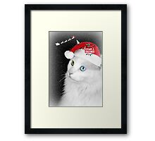 "Delain says ""Happy Holidays"" Framed Print"