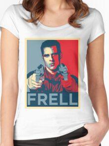 crichton propaganda Women's Fitted Scoop T-Shirt