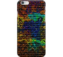 flamed horses iPhone Case/Skin