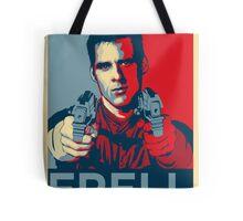 crichton propaganda Tote Bag