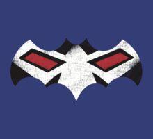 Bane Vs Batman Symbol by Chris Johnson