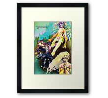 Final fantasy 6 group Framed Print