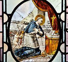 Priory Church Window ~ St Michael's Mount by Susie Peek