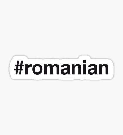 ROMANIAN Sticker